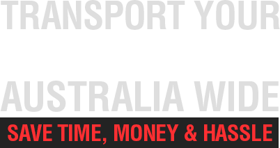 Transport your Motorcycle Australia-Wide